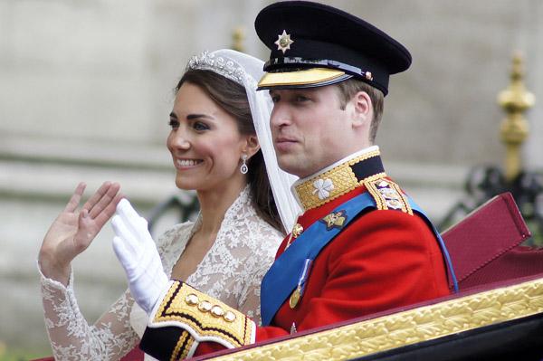 Happy anniversary, Wills & Kate!