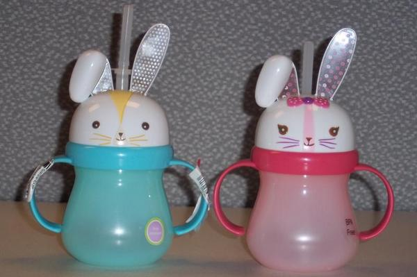 Recalled Target bunny sippy cups