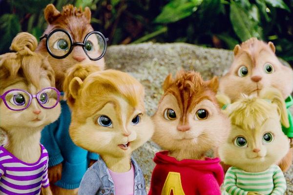 Redbox release Alvin & the Chipmunks Chip-Wrecked