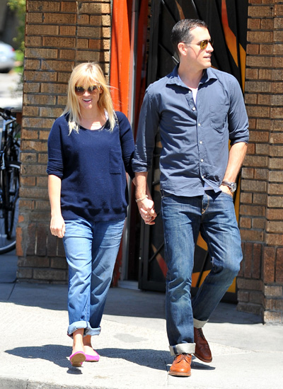 Pregnant Reese Witherspoon and Jim Toth