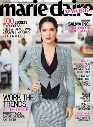 Salma gets down to business