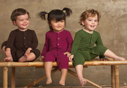 Three Natural fabrics for Baby clothes