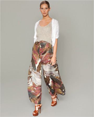 Sjobeck wrap pants