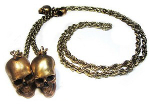 Livia Firth Design - Skull Necklace