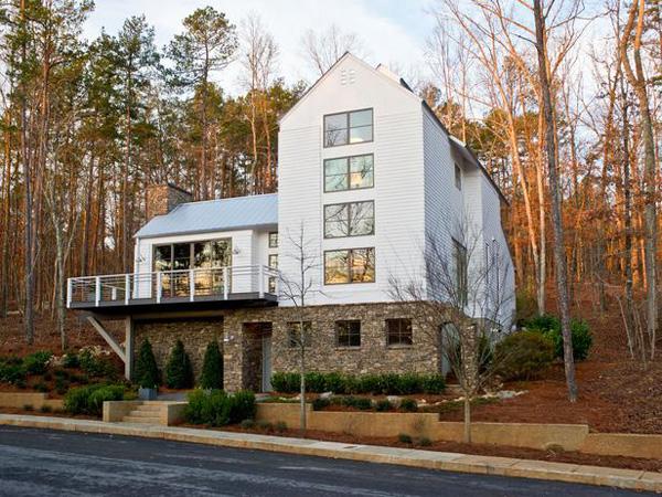 HGTV Green home -- exterior