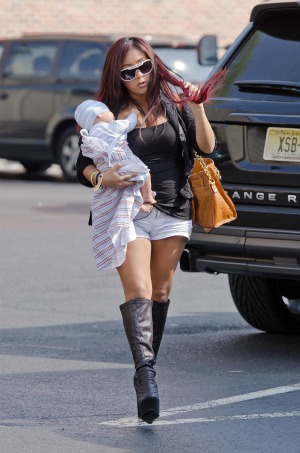 Snooki  Baby on Snooki Is Getting Fierce Over Claims That Her Baby Daddy Is Cheating