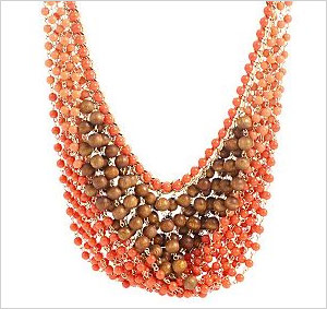 Joan Rivers New Wave Beaded Bib 18