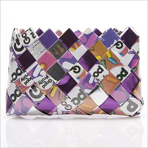 Candy wrapper wristlet