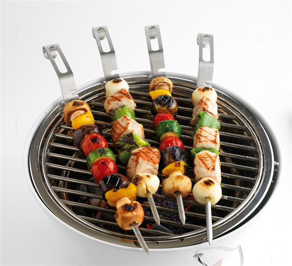 Stainless steel bbq skewers