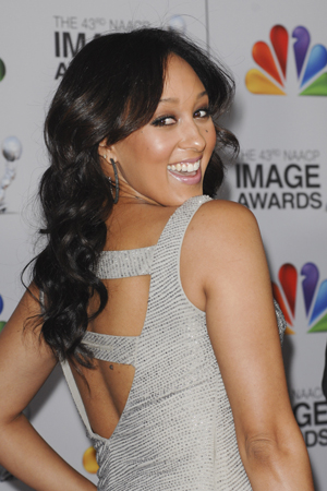 Tamera Mowry hopes for a boy