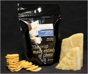 Kitchen Table Bakers Parmesan Cheese Crisps ($18 for 3-pack)