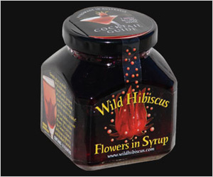 Wild Hibiscus Flowers in Syrup ($11)