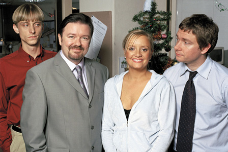 The Office UK -- First Christmas special