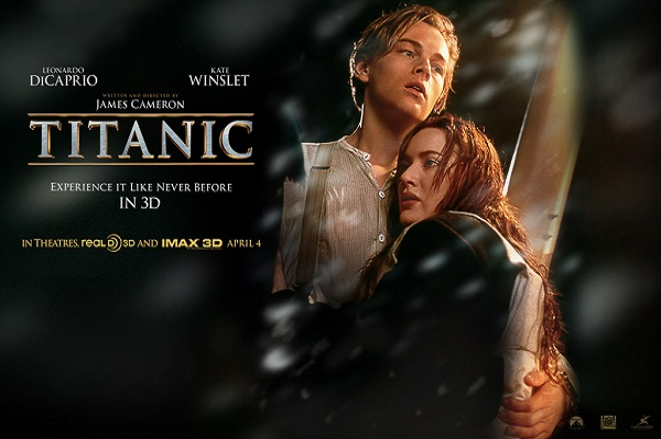 Titanic re-release in 3D opened Wednesday