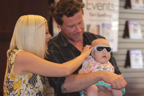 Tori Spelling and Dean McDermott having child number four
