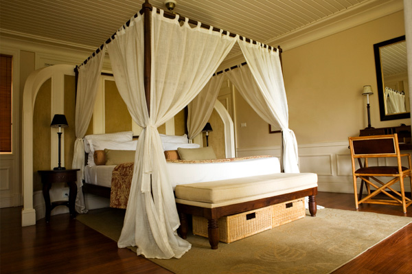Making your bedroom more sleep friendly for Tropical canopy bed