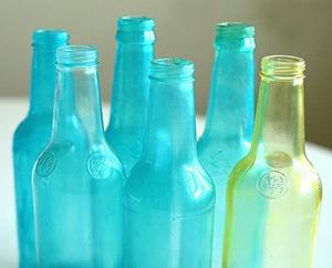 Tinted bottles