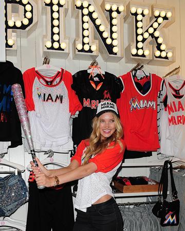Victoria Secret MLB fashion