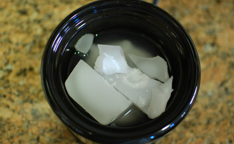 Melt wax in crockpot