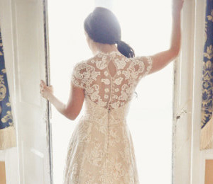 Wedding dress trends -- lace