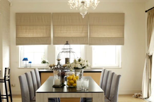 window coverings find the perfect blind bay window treatments dining room window treatments