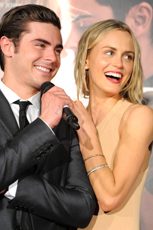 Taylor Schilling says sex scenes with Zac Efron were simple