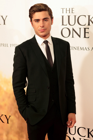 Zac Efron transforms for The Lucky One