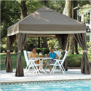Cool-Off pop-up gazebo