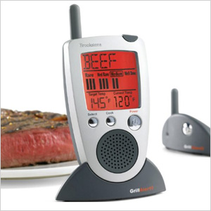 Grill Alert Talking Remote Meat Thermometer