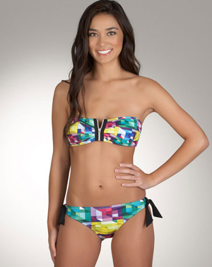 Apple shape bathing suit