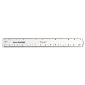 Plastic ruler