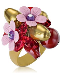Berry and bloom ring