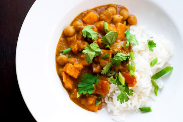 Tonight's Dinner: Slow cooker African peanut stew recipe