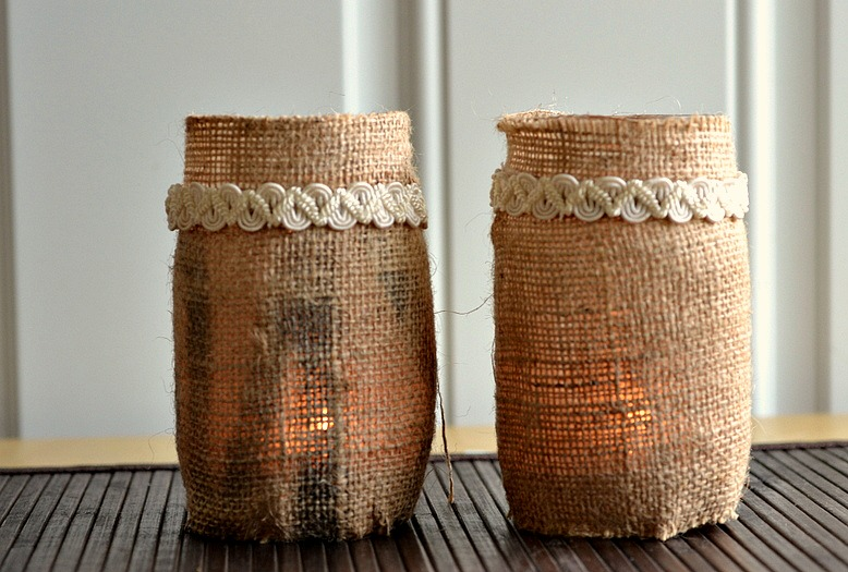 Fun craft to add rustic flair to home decor