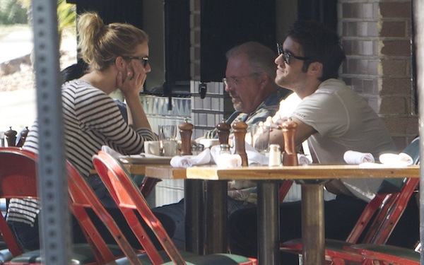 Emily VanCamp and Josh Bowman from Revenge