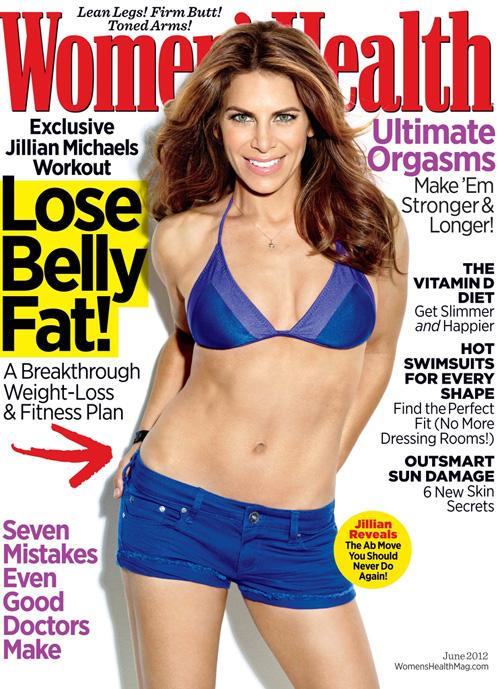 Jillian Michaels on Women's Health June 2012