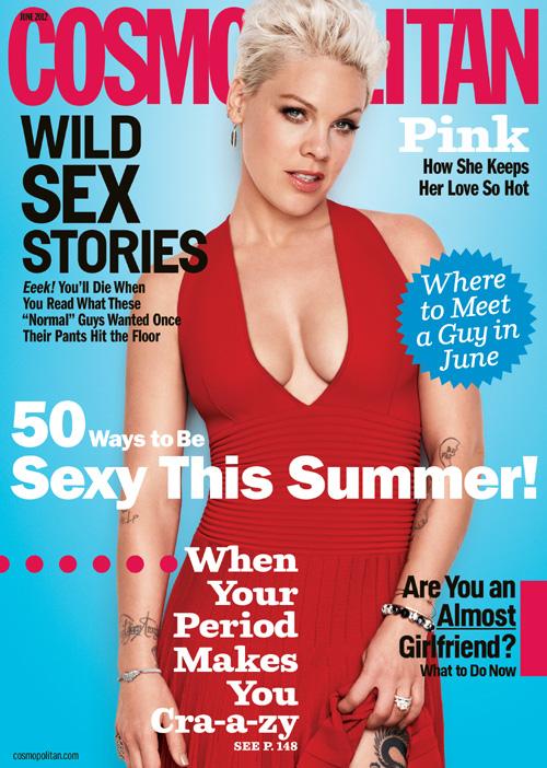 Pink June 2012 Cosmopolitan