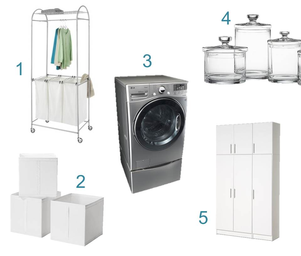 5 Practical laundry room fixtures