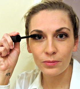 Step 3: Eyeliner & mascara