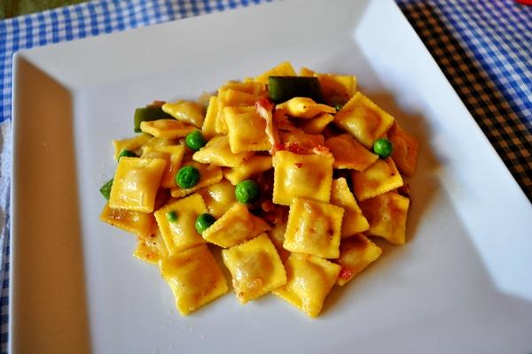 Pancetta instead of meatballs