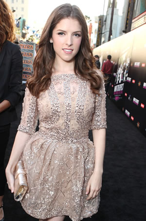 Anna Kendrick at the What To Expect premiere