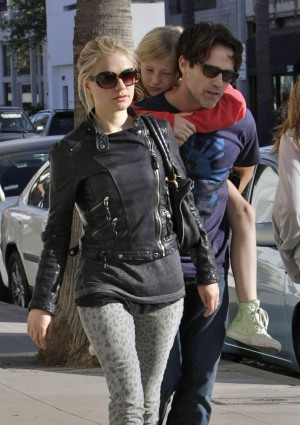 Anna Paquin, Stephen Moyer, daughter