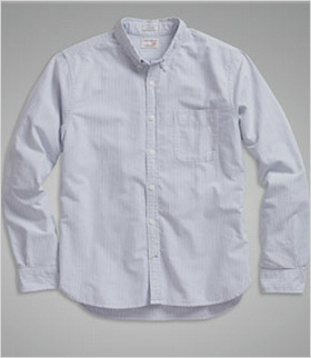 A simple Oxford shirt