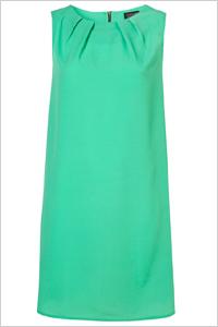 sea green shift dress