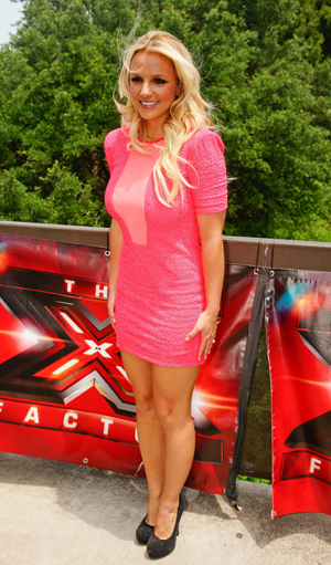 britney spears x factor walk off