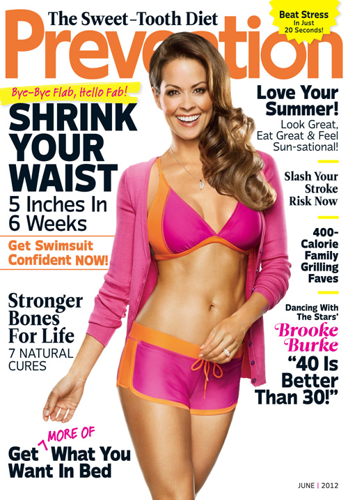 Brooke Burke Prevention magazine June 2012
