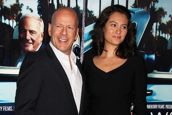 Bruce Willis and wife Emma Heming
