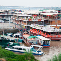 Phnom Penh waterfront