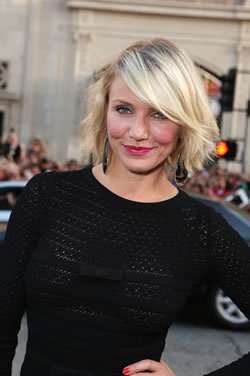 Cameron Diaz at the What to Expect When You're Expecting premiere