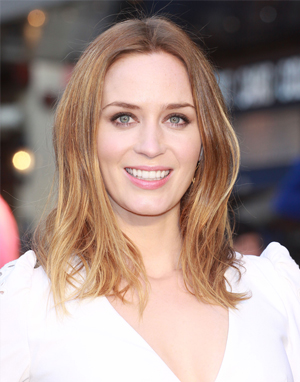 Emily Blunt goes lighter